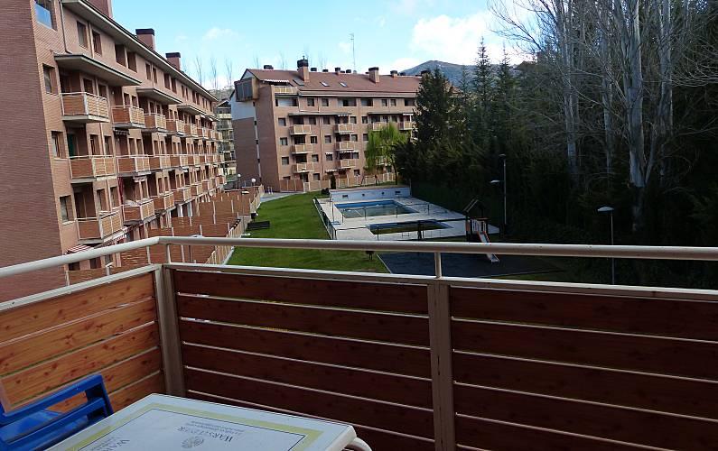 Apartment Terrace Huesca Jaca Apartment - Terrace