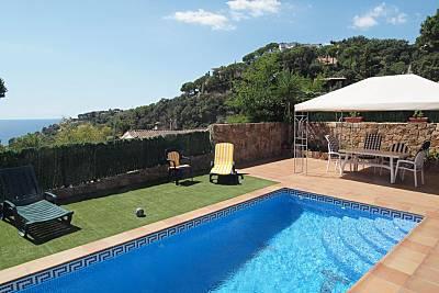 Villa Geranio para 6 personas a 800 m de la playa Girona/Gerona