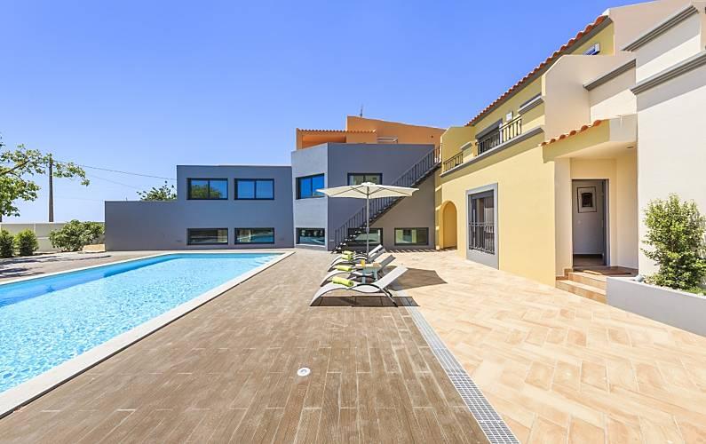 Vivenda para 8 pessoas em Quelfes Algarve-Faro -