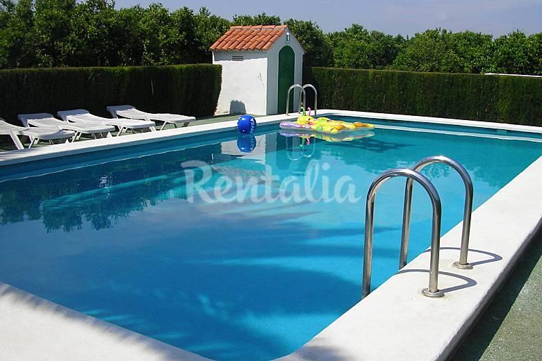 villa para 8 personas con piscina a 500 m del mar ForPiscina Benicarlo