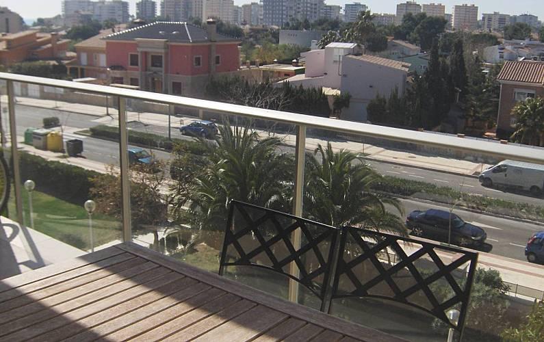 Appartement voor 4 personen op 400 meter van het strand benicasim benic ssim castell n for Terras strijkijzer