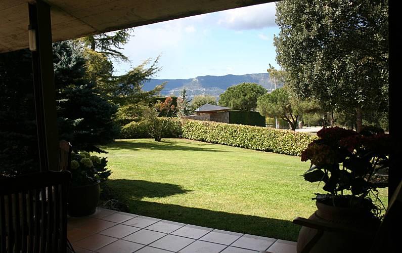 Villa Jardín Barcelona Seva Villa en entorno rural - Jardín