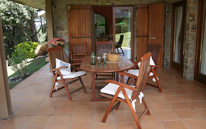 Villa Terraza Barcelona Seva Villa en entorno rural - Terraza
