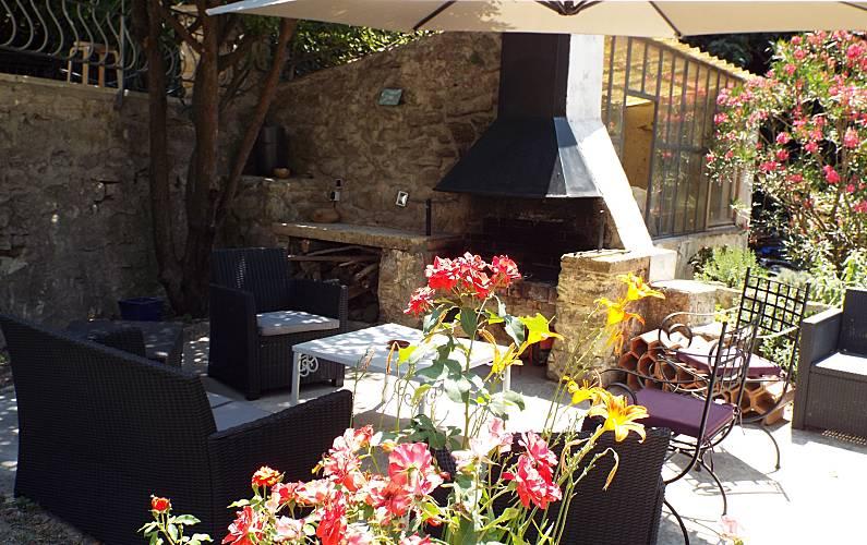Moulin Terrace Vaucluse Avignon Cottage - Terrace