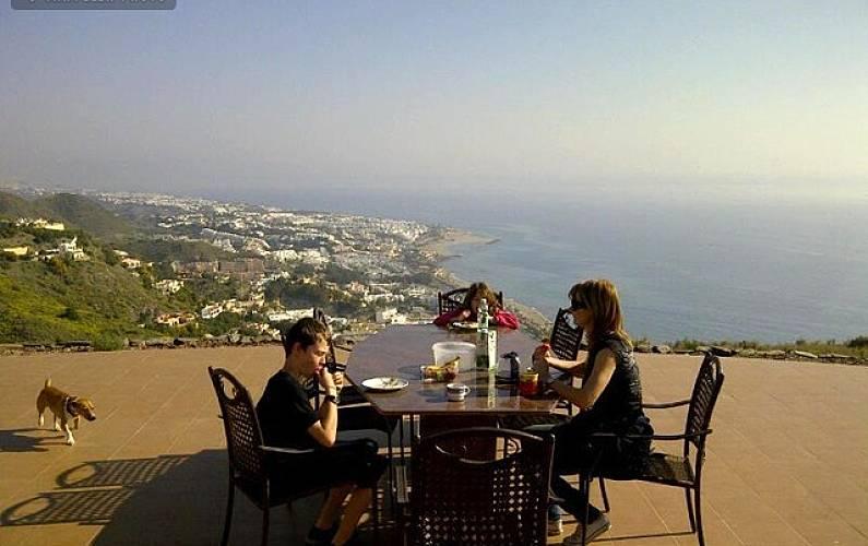 Villa para 8-10 personas con vistas espectaculares  Almería