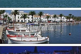 Chalet para 4/5 personas a 1200 m de la playa. Menorca