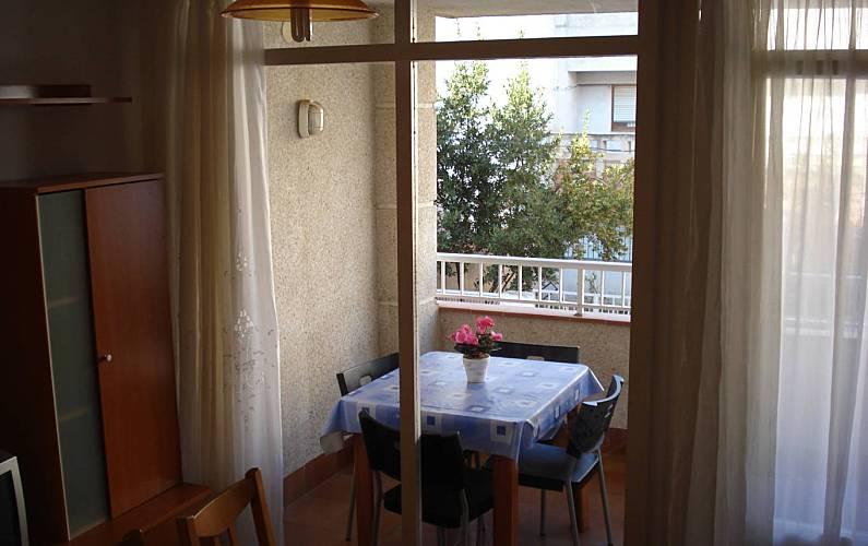 2 Terraço Tarragona Alcanar Apartamento - Terraço