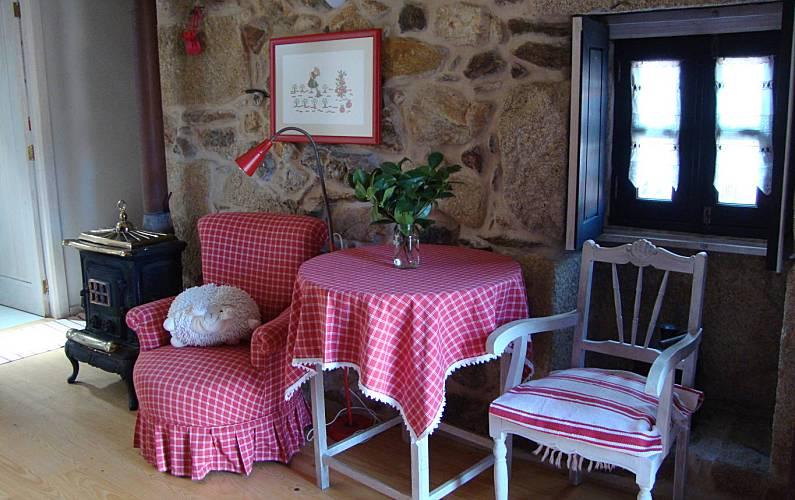 Local Sala Braga Celorico de Basto Casa rural - Sala