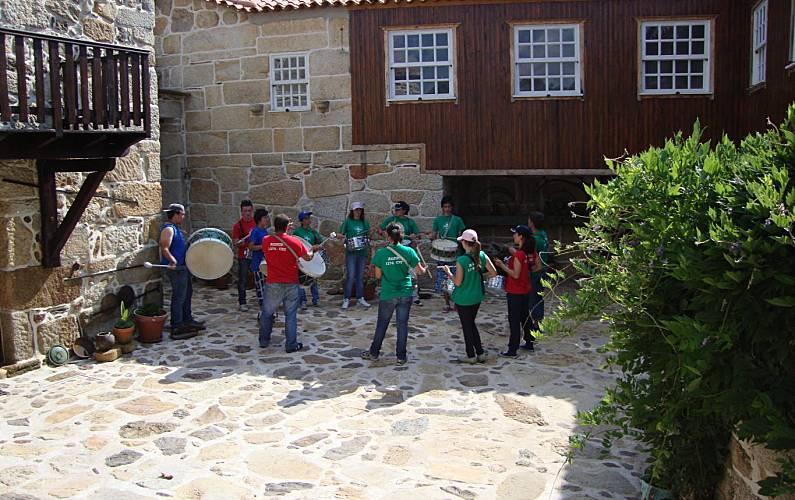 Local Terraço Braga Celorico de Basto Casa rural - Terraço