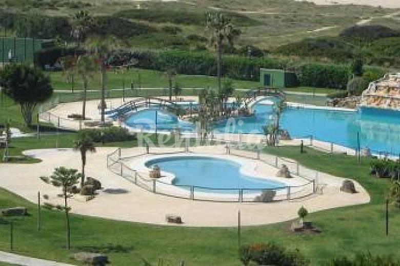 50 m playa piscina jardines atlanterra playa zahara for Piscina 50 metros cadiz