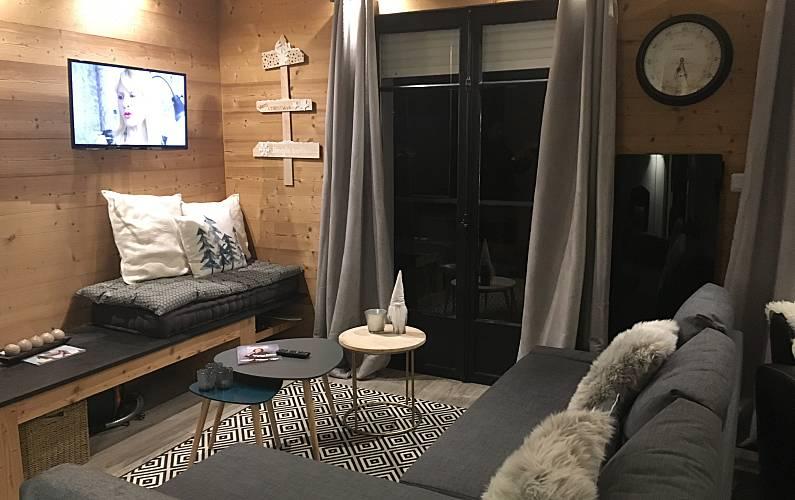 Apartment with 3 bedrooms in Pyrenees-Orientales Pyrenees-Orientales - Living-room