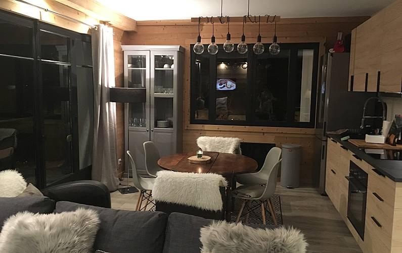 Apartment Living-room Pyrenees-Orientales Font-Romeu-Odeillo-Via Apartment - Living-room