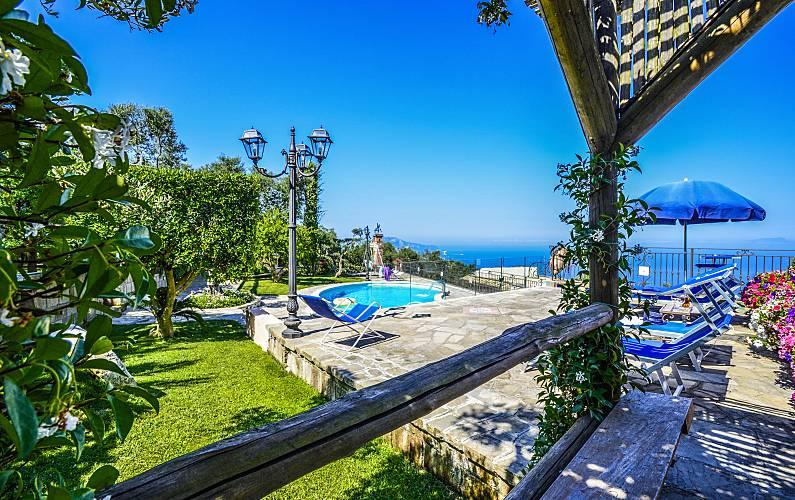 Villa Marika Sant Agata Sui Due Golfi Massa Lubrense Napoli