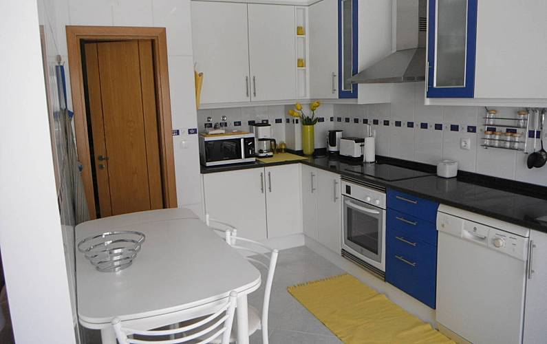 Modern Kitchen Algarve-Faro Tavira Apartment - Kitchen