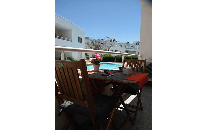 Modern Terrace Algarve-Faro Tavira Apartment - Terrace