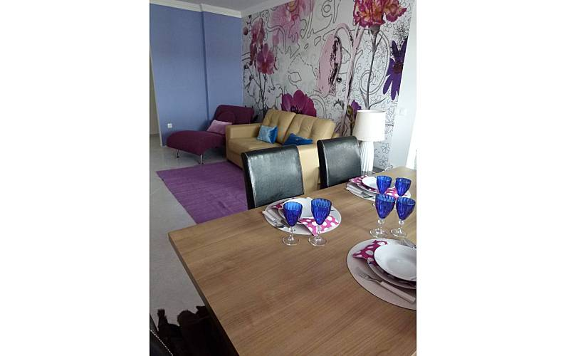 Modern Dining-room Algarve-Faro Tavira Apartment - Dining-room