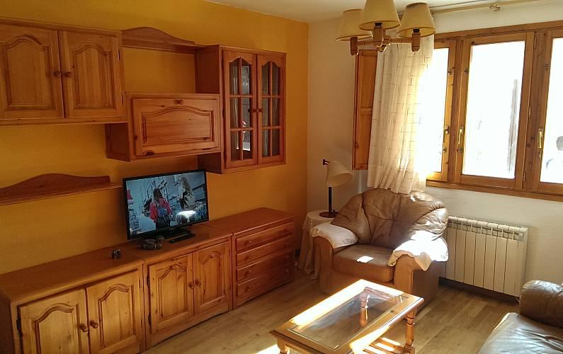Apartment Living-room Huesca Sallent de Gállego Apartment - Living-room