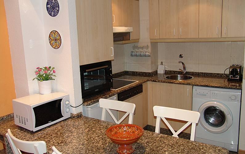Apartment Kitchen Huesca Sallent de Gállego Apartment - Kitchen