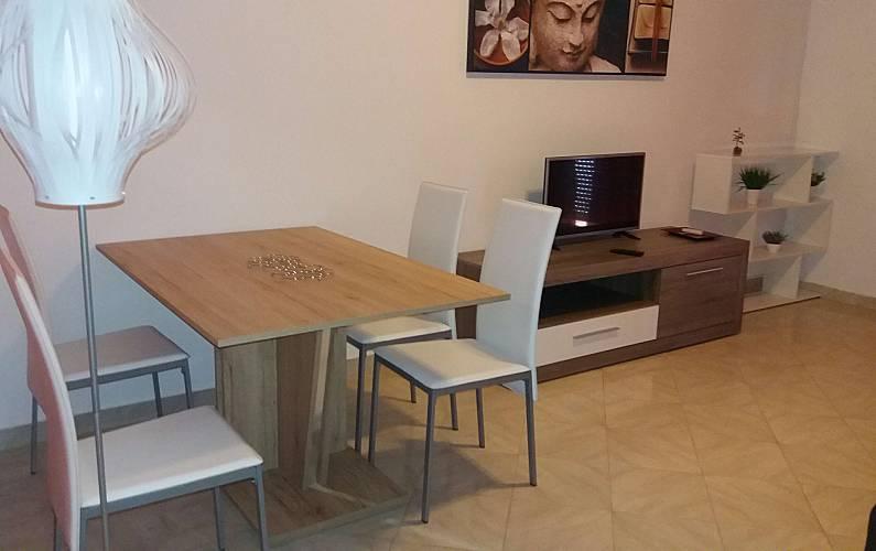 8 Sala Algarve-Faro Albufeira Apartamento - Sala