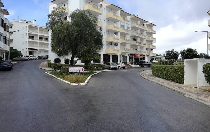 8 Exterior da casa Algarve-Faro Albufeira Apartamento - Exterior da casa