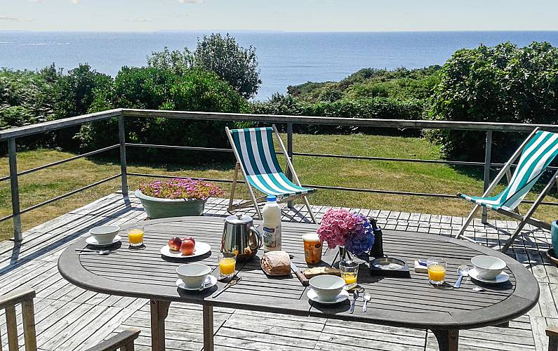 Amazing house with sea view & Wifi Finistere -