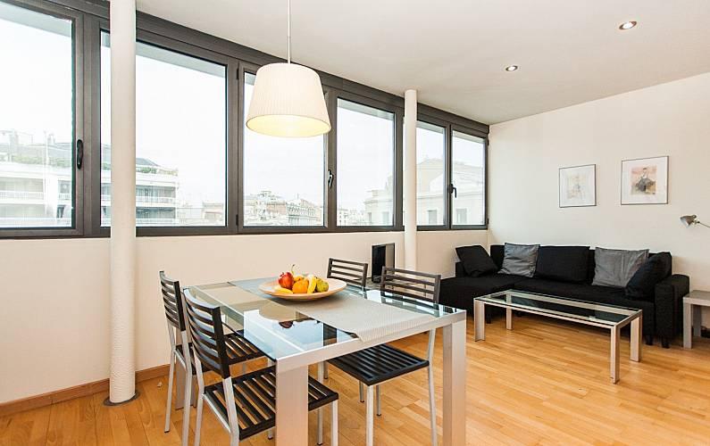Appartement pour 4 personnes barcelone centre for Appart hotel 5 personnes barcelone