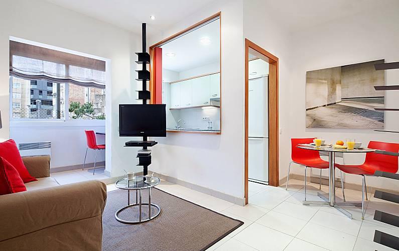 Appartamento per 6 persone nel centro di barcellona for B b barcellona economici centro
