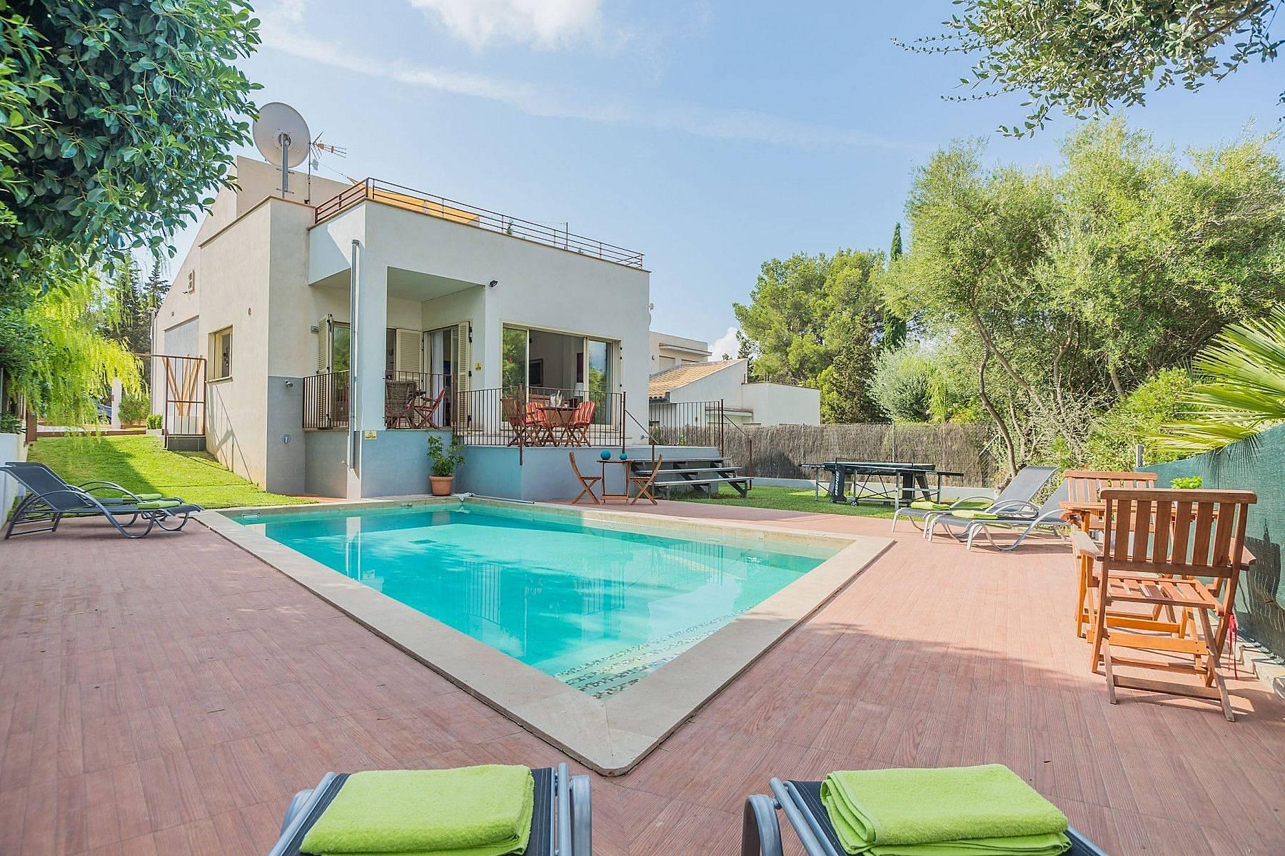 Location D Une Villa  Ef Bf Bd Alcudia Majorque