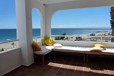 Apartamento para 6 personas a 60 m. de la playa. Almería