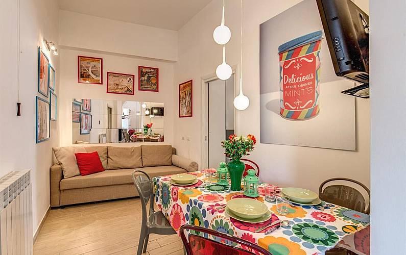 wohnung f r 6 personen in rom il centro rom rom. Black Bedroom Furniture Sets. Home Design Ideas