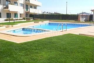 Apt 4 pax em condominio privado com piscina Leiria