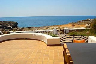 Casa para 1-9 personas. 1ª Linea de mar Menorca