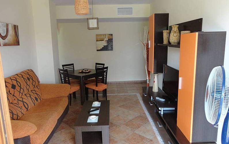 Apartment Living-room Huelva Ayamonte Apartment - Living-room