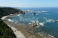 Casa a 300 m de playa, con jardin, admite mascotas Asturias