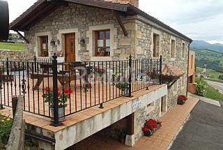 House with 6 bedrooms on the beach front line Cantabria