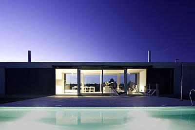 Villa para 4-7 pers con piscina en un viñedo Zamora