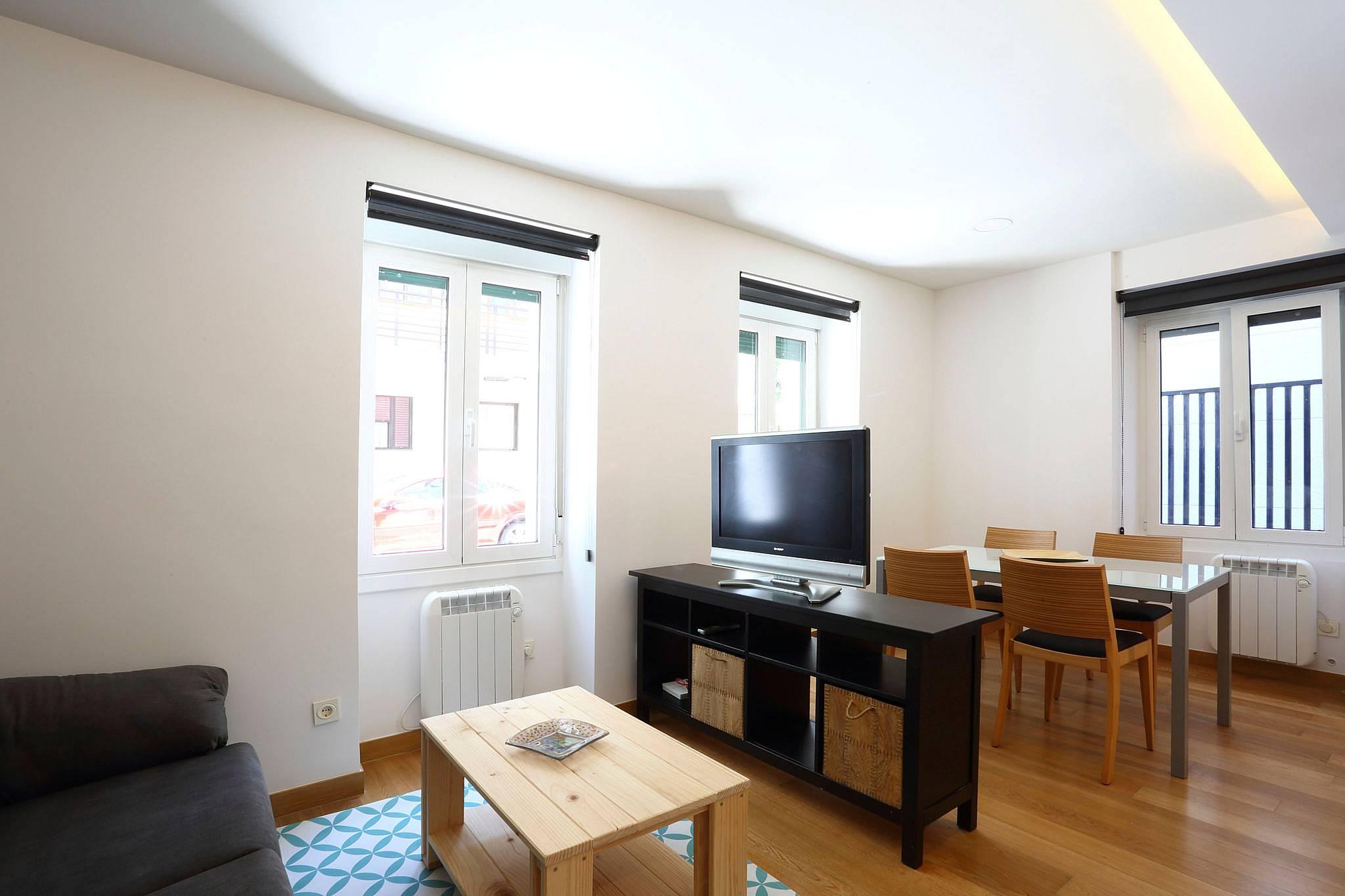 appartement pour 4 personnes fontarrabie fontarrabie guipuscoa c te basque. Black Bedroom Furniture Sets. Home Design Ideas