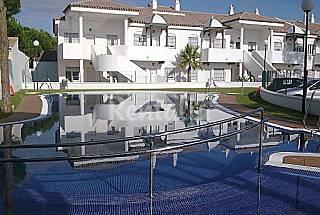 Apartamento con patio 30 metros, 350 m de la playa Cádiz