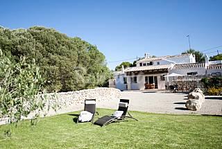 Casa de campo y huerto particular ¡Zona tranquila! Menorca