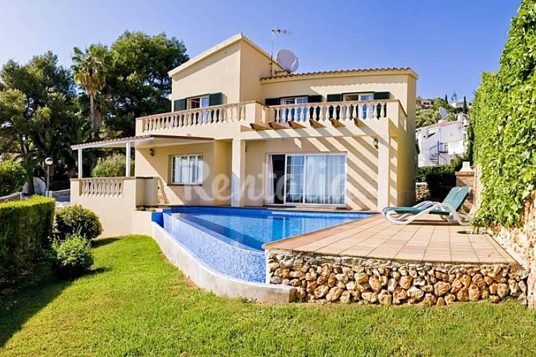 2 Villas en location à 700 m de la plage Minorque