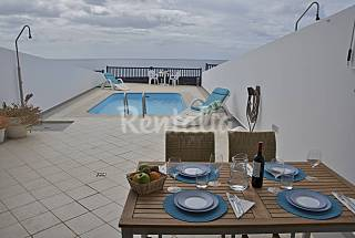 Villa en alquiler en 1a línea de playa Lanzarote