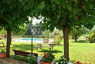 Casa alquiler con piscina privada de 13-15 pers. Girona/Gerona