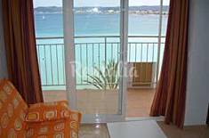 Estudio 1º linea de playa Puerto de Javea Alicante