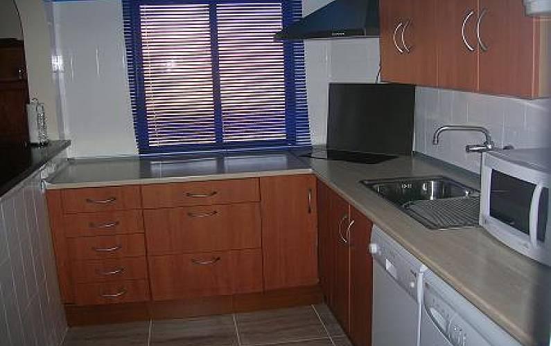 T-1 Kitchen Algarve-Faro Portimão Apartment - Kitchen