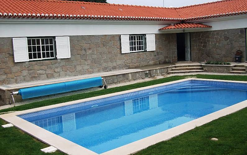 Villa 6-8 people, 2km from the beach, heated pool Lisbon - Outdoors