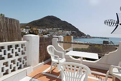 Casa Al Sur: a pie de playa, aacc, wifi. Vistas Almería