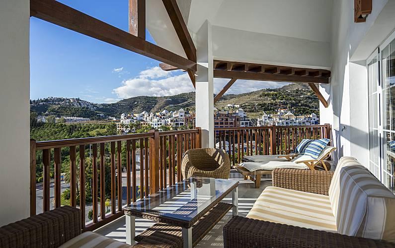 Duplex Grand Standing à 30m De La Plage Piscine Velilla Taramay Almuñécar Grenade Costa Tropical