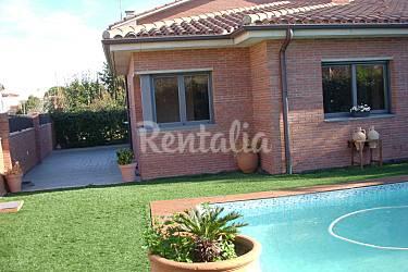 Casa en alquiler con piscina y chimenea cornell del - Casa en cornella ...