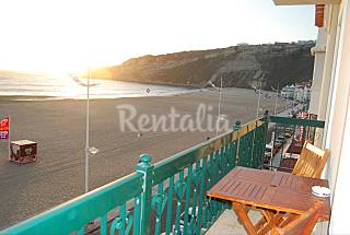 Apartamento de 2 habitaciones en 1a línea de playa Leiria