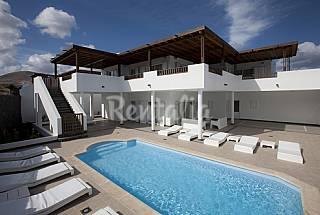 Villa Palmera de 5 hab con maravillosas vistas Lanzarote